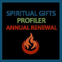 Spiritual Gifts Profiler Annual Renewal